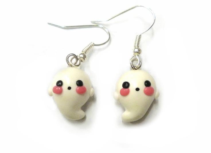 Ghost-earrings