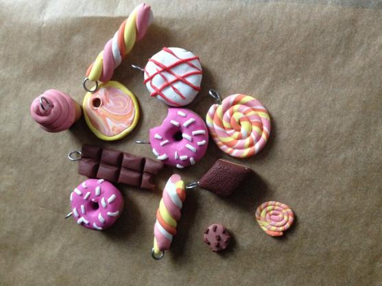 Polymer clay sweets. for my sweet