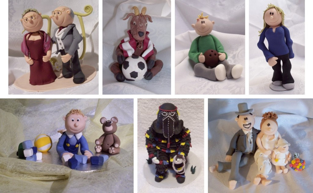 Polymer clay figurines - simple and easy