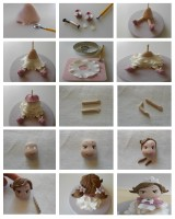 Polymer clay princess – DIY step by step tutorial