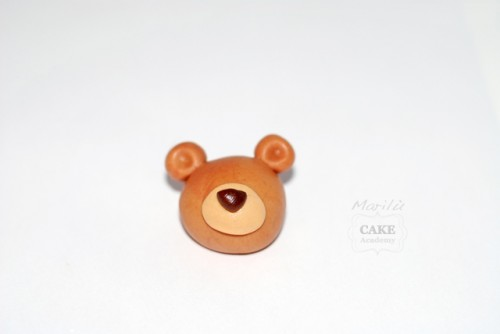 Cute polymer clay teddy bear - DIY step by step tutorial