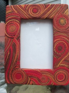 DIY 6 polymer clay photo frame ideas