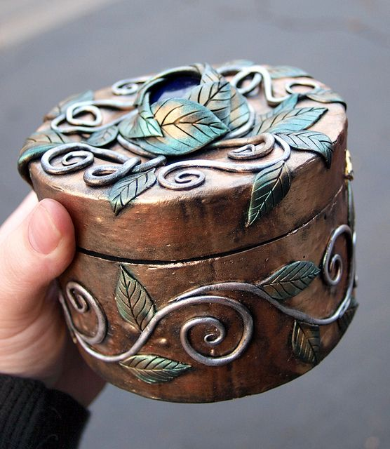 DYI 150 polymer clay box ideas