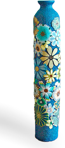 DIY 100 polymer clay vase ideas
