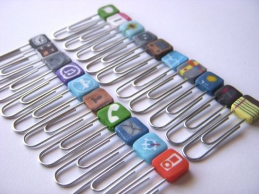 DIY 11 fimo paper clips ideas
