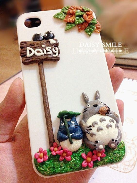 DIY 6 polymer clay phone cover ideas