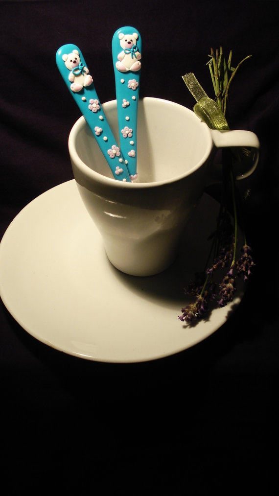 Polymer clay custom tableware