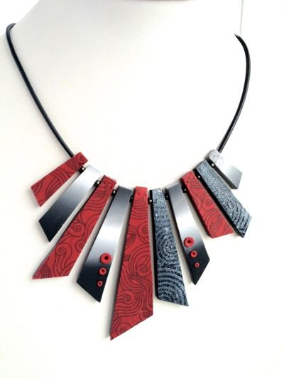 Polymer clay necklace ideas