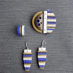 Fimo - clay - jewelry set