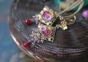 Vintage FIMO earrings ideas