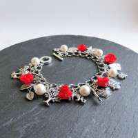 polymer clay charm bracelet – ideas to accessorize your day