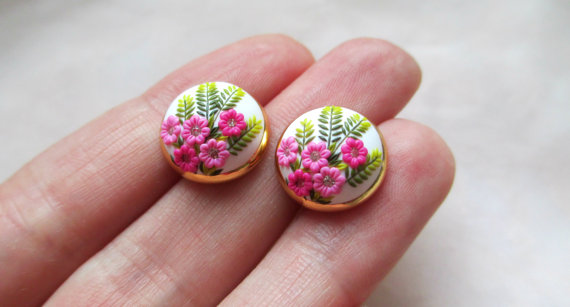 7 chic polymer clay earrings to copy this week