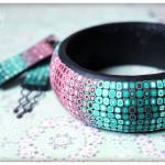 Polymer clay bracelet4