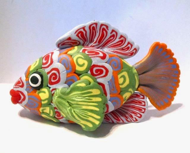 Polymer Clay Fish Tutorial