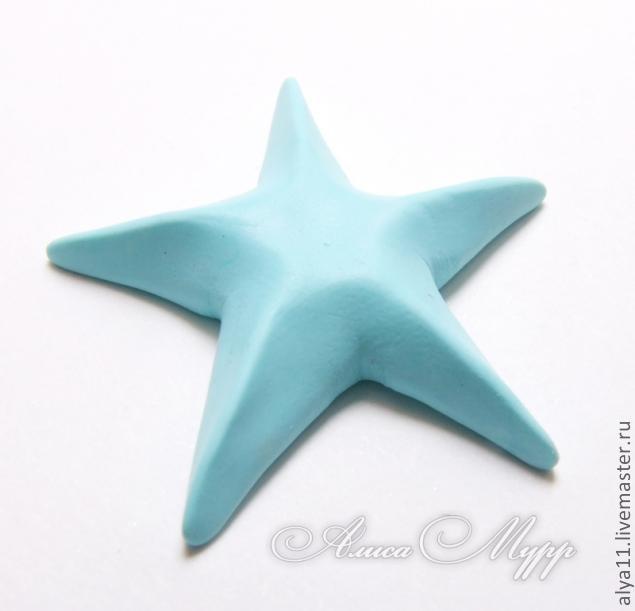 Polymer clay sea star tutorial