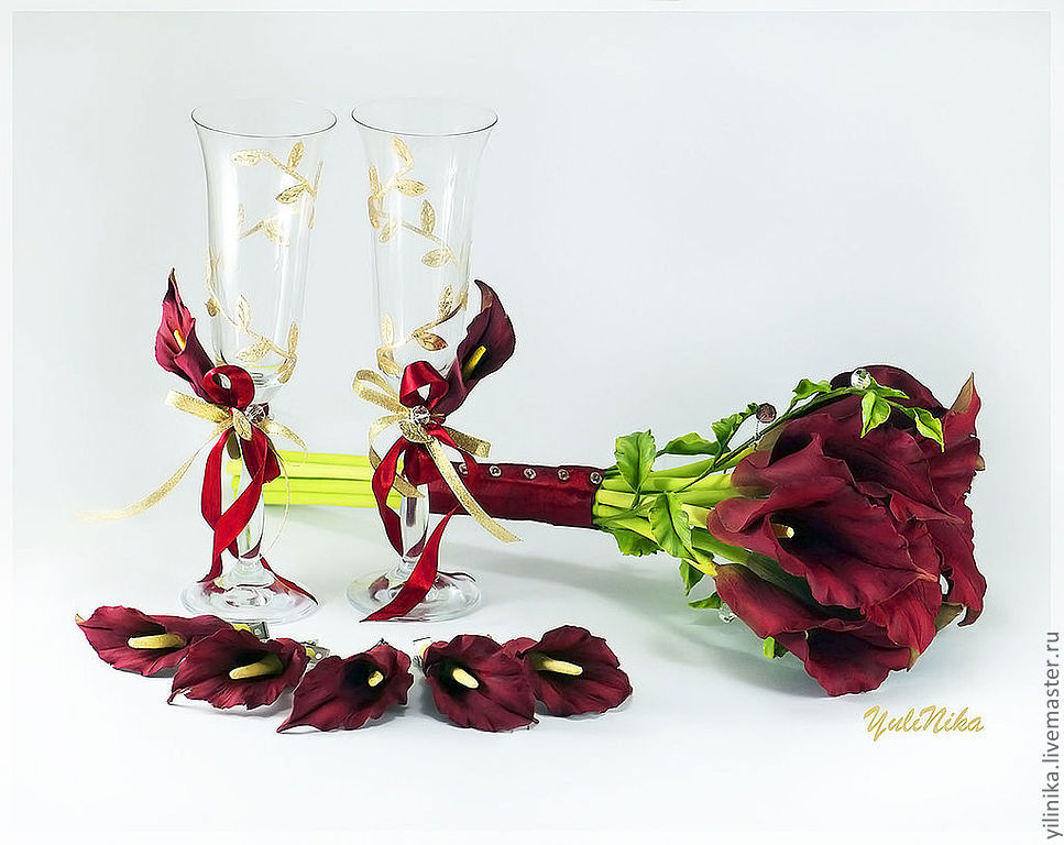 Bouquet with callas 2