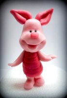 Polymer clay Piglet tutorial
