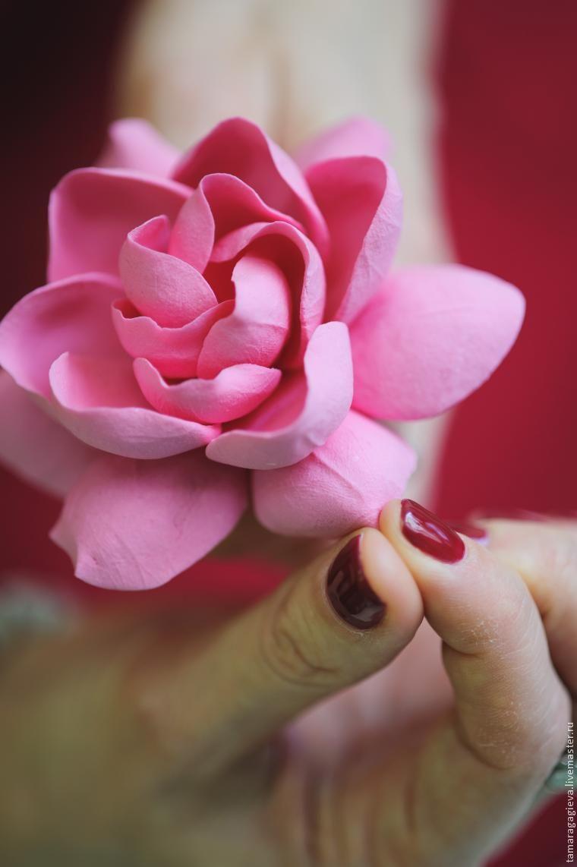 Polymer clay gardenia tutorial