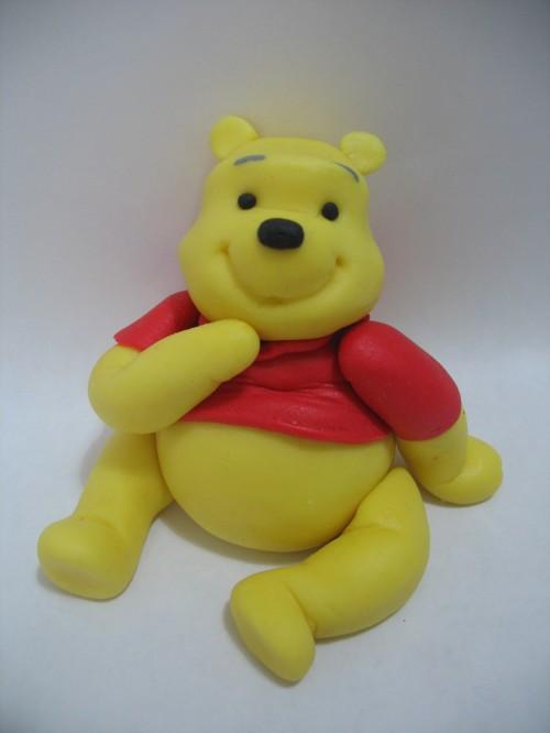 Polymer clay Winnie the Pooh tutorial