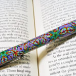 Polymer clay pen - canes 10