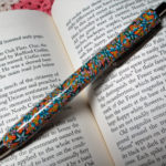 Polymer clay colored pen - canes 19