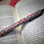 Polymer clay colored pen - canes 18