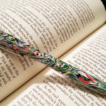 Polymer clay colored pen - canes 6