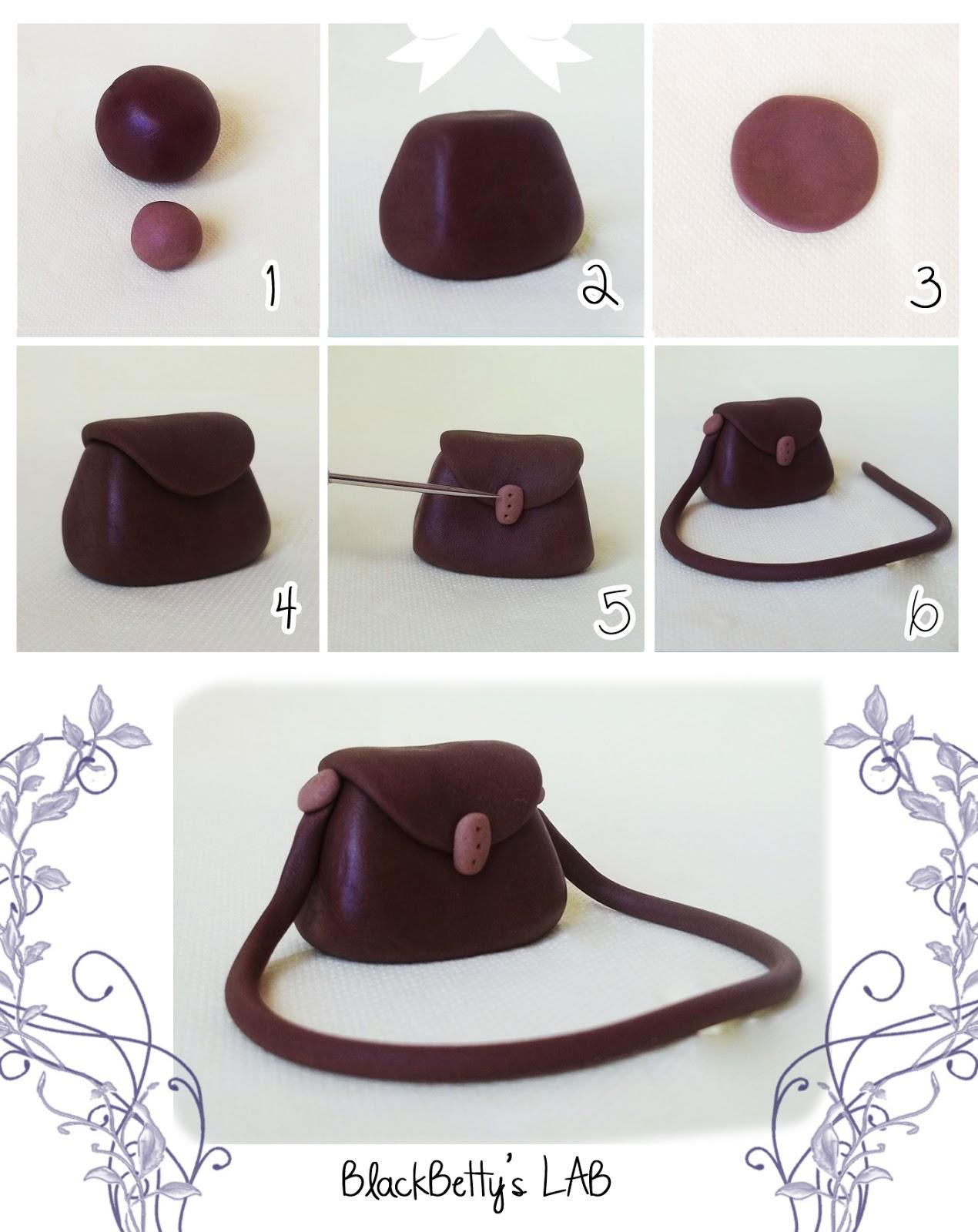 Polymer clay handbag tutorial