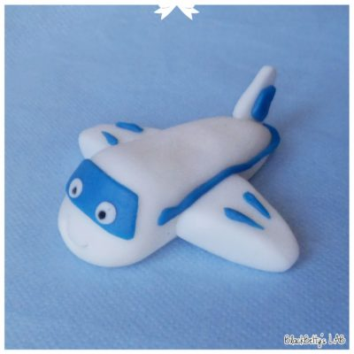 Polymer clay airplane tutorial