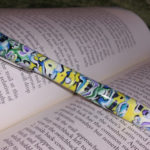 Polymer clay colored pen - canes