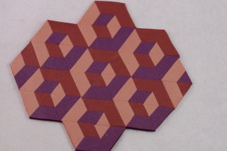 Polymer clay tumbling patchwork tutorial