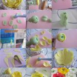 polymer clay ranunculus asiaticus – tutorial step by step