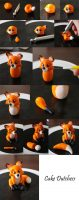 Polymer Clay Fox Tutorial – DIY step by step