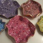 Polymer clay decorative jewelry dish - tutorial - step 1