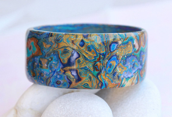 Polymer clay mokume gane bracelets ideas to do it yourself solutioingenieria Image collections