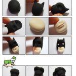 Polymer clay Super Heroes – Batman step by step tutorial