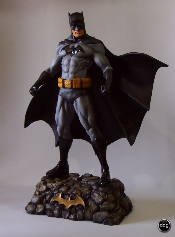 Polymer clay Super Heroes - Batmanl