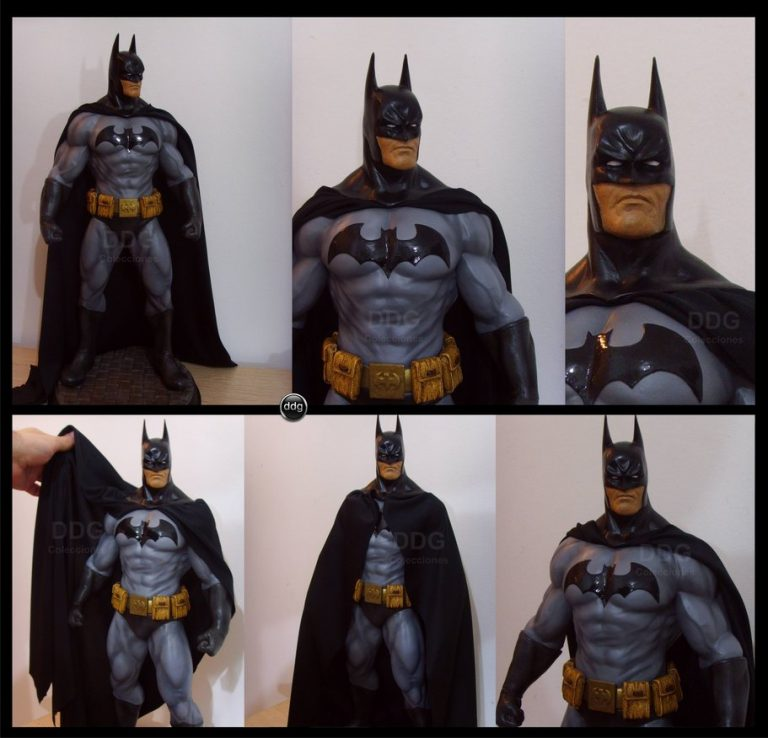 Polymer Clay Batman Step By Step Tutorial Super Heroes
