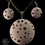 Polymer clay bubbles beads - beaded jewelry (2)