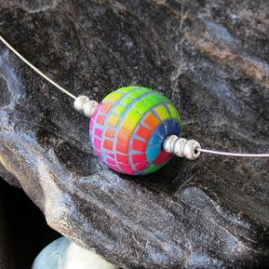 Polymer clay mosaic beads that you'll love
