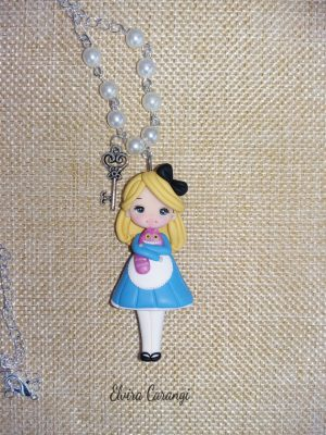 Polymer clay Alice in Wonderland ideas