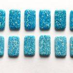Faux agate polymer clay bracelet - DIY step by step tutorial - step10
