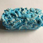 Faux agate polymer clay bracelet - DIY step by step tutorial - step7