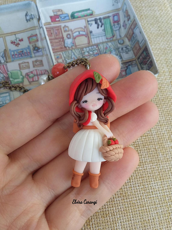 Polymer clay Little Red ideas