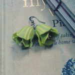 Polymer clay beautiful bell flower earrings (4)