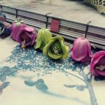 Polymer clay beautiful bell flower earrings (5)