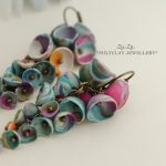 Polymer clay earrings for special occasions (11)