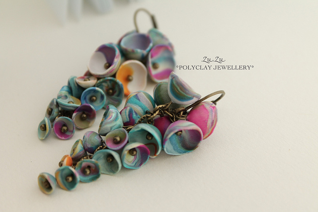 Polymer clay earrings for special occasions (12)