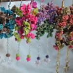 Polymer clay earrings for special occasions (3)