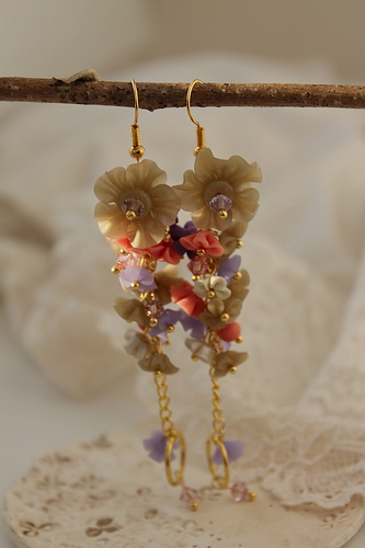 Polymer clay earrings for special occasions (22)